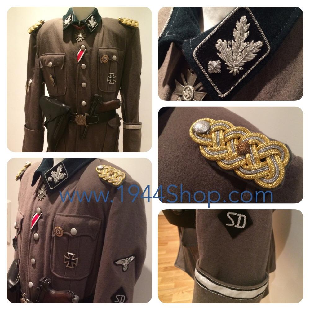 H. Himmler And S. Dietrich Uniforms