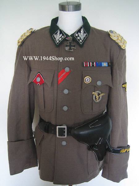 WWW.1944SHOP.COMH. Himmler, S. Dietrich and R. Heydrich Uniforms.