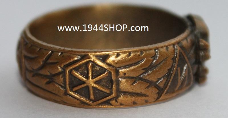German Ss Gold Rings