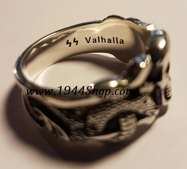 Valhalla Ss Officer Ring 925