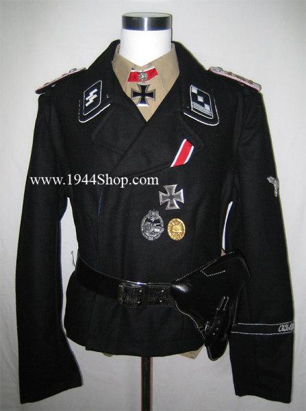 Ss Panzer And Assult Uniforms