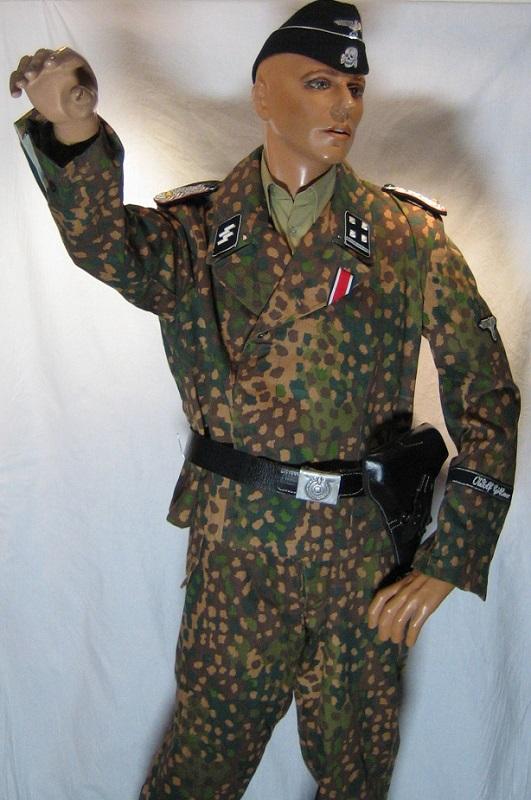 Panzer Officer - Verlinden - Busto 200mm Peiper_arm