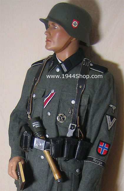 SS-Combat and Service Uniforms