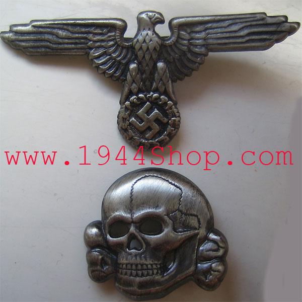 Waffen-SS / Allgemeine-SS Cap Set (2 type)